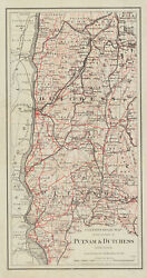 1895 Map Of Putnam And Dutchess County New York