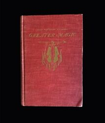 John Northern Hilliard's Greater Magic - Book - Magic And Party Tricks