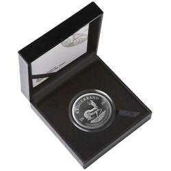 2020 South Africa Krugerrand Silver Proof 2oz Coin Box Coa - Mintage 10000