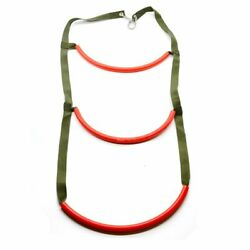 Inflatable Boat Rib 3 Step Boarding Ladder Wakeboard Yacht Equipment