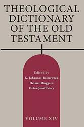 Theological Dictionary Of The Old Testament, Volume Xiv, Botterweck, Johannes,,