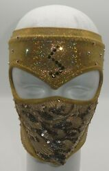 Lady Shani Signed Autoand039d Aaa Ring Worn Mask Bas Coa Lucha Libre Triplemania 27