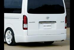 415 Cobra [wide] Clean Look Rear Bumper [type 3] For The Toyota Hiace H200