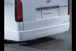 415 Cobra [wide] Clean Look Rear Bumper S [type 4] For The Toyota Hiace H200