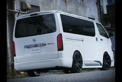415 Cobra [narrow] Clean Look Rear Bumper S Type 4 For The Toyota Hiace H200
