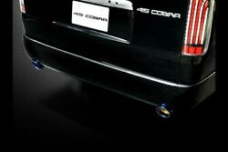 415 Cobra [narrow] Clean Look Rear Bumper W Type 4 For The Toyota Hiace H200