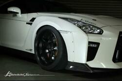 Kansaiservice Front Wide Fender For The Nissan R35 Gt-r