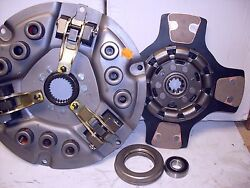 Fits Allis D17 Series Iv 170 175 Tractor Clutch Kit With 4 Pad
