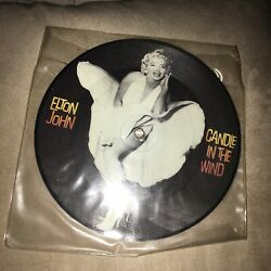 RARE Elton John Candle In The Wind 7