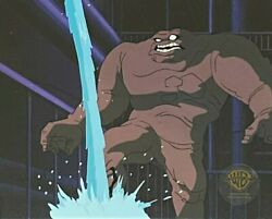 Bruce Timm Rare Clayface Full Body Cel Growing Pains Episode Btas Wb Coa