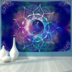 Tapestry Mandala WallHanging Hippie Bohemian PolyesterBedSheet Indian Decor Dorm