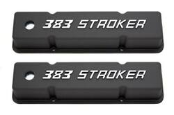 Racing Power Co-packaged Small Block Chevy Tall Valve Covers 383 Stroker R7617
