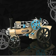 Teching Dm34 Steam Car Model Stirling Engine Full Metal Model Toy Collection Gif