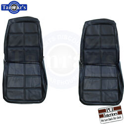 1969 Charger Rt R/t Front And Rear Seat Covers Upholstery Pui