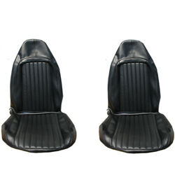 1973 Barracuda Cuda Challenger Standard Front Seat Covers Upholstery Pui