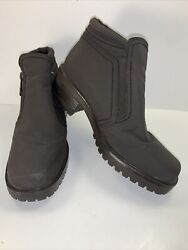 Totes Boots Women's Dark Brown Size 6M $10.99