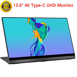 Uperfect 15.6 Portable Gaming Monitor Touch 4k Ips Display For Ps3 Ps4 Xbox Us
