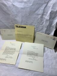 President Richard M. Nixon - 2 Typed Letters Signed 1971 1972 Rare Collection