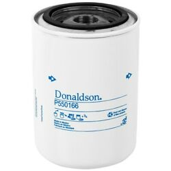 New Genuine Donaldson Commercial Equip Lube Oil P550166 Spin-on Full Flow Filter