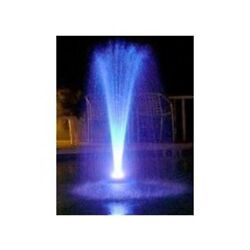 Custom Pro Floating Water Fountain With Multi-color Led Lights And 1100 Gph Pump