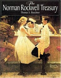 The Norman Rockwell Treasury By Buechner, Thomas S. Book The Fast Free Shipping