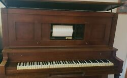 Vintage Player Piano Cable And Sons, Year 1915 , As Is