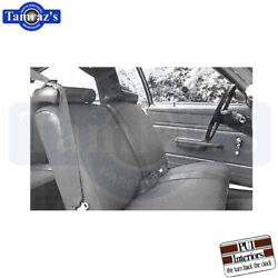 1977-1979 Nova Standard Front And Rear Seat Covers Upholstery Pui New