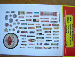 Jl Innovative Design 248 Vintage Advertising Thermometers And Clocks 1930and039s-50s
