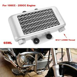 Universal Engine Oil Cooler Cooling Radiator For Motorcycle Dirt Bike 100-250cc