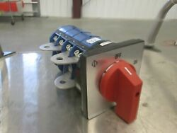 Kraus And Naimer L400 Furnace Switch 400a Thermco 5200 Furnace Tested