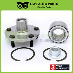 1pc Front Wheel Bearing And Hub Assembly For 02-06 Nissan Altima V6 00-08 Maxima
