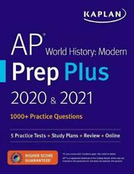 Ap World History Modern Prep Plus 2020 And 2021 5 Practice Tests + Study Plans +