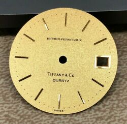 Girard-perregaux And Co Quartz 27.96mm Watch Dial Feet @ 12 And 42 Seconds