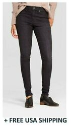 Women's High-Rise Jeggings - Universal Thread™ Black Wash - Brand New with Tag