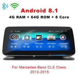 Large Rounded Corner Android Car Gps Nav Radio For Benz Cls Class C218 W218 X218