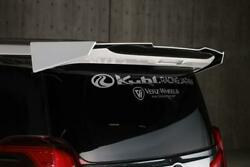 Kuhl Racing Rear Wing Ver.1 For The Toyota Alphard 30