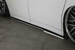 Kuhl Racing Side Diffuser For The Toyota Alphard 30