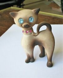 Siamese Cat Japan Rhinestone Eyes Ala Roselane