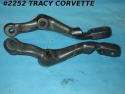 1977-1982 Corvette Steering Knuckle Arms 3948877 3948878 Rh Lh 1 Hole Plugged