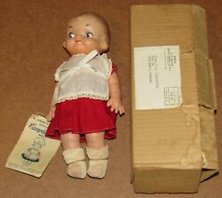 1957 Official Campbell Kid 9 Doll W/box And Tag
