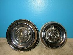 2 1955 Jaeger Watch Co. Automobile Clocks Free Shipping