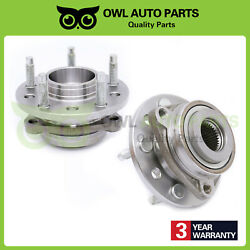Set 2 New Front Wheel Bearing And Hub Assembly For Concorde Intrepid Vision