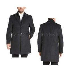 New Menand039s Kirkland Signature Wool And Cashmere Blend Overcoat Variety Sz And Clrs