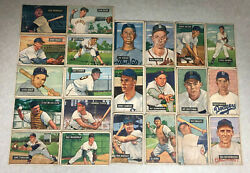 Lot Of 80 1951 Bowman Baseball Poor - Vg Condition Cards 2125 Book Value Bv