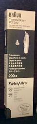 Braun Thermoscan Pc 200 Ear Thermometer Probe Covers Welch Allyn Pro 4000 4520