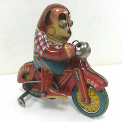 Tin Toys Monkey Cycle Made In Japan