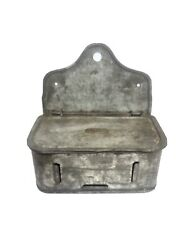 Antique Tin Spice Holder Fries And Co. Very Rare