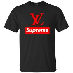 T-Shirts Black Suprem12 T-Shirts Gift Tee size S-5XL US Men's Shirt Trend Cotton $10.95