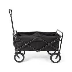 Mac Sports Collapsible Folding Frame Outdoor Garden Utility Wagon Cart 3 Pack