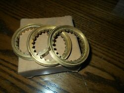 3 Nors Synchronizer Rings 1963 1964 1965 1966 1967 Barracuda Dart Dodge Plymouth